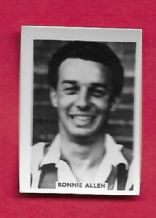 West Bromwich Albion Ronnie Allen (Col)